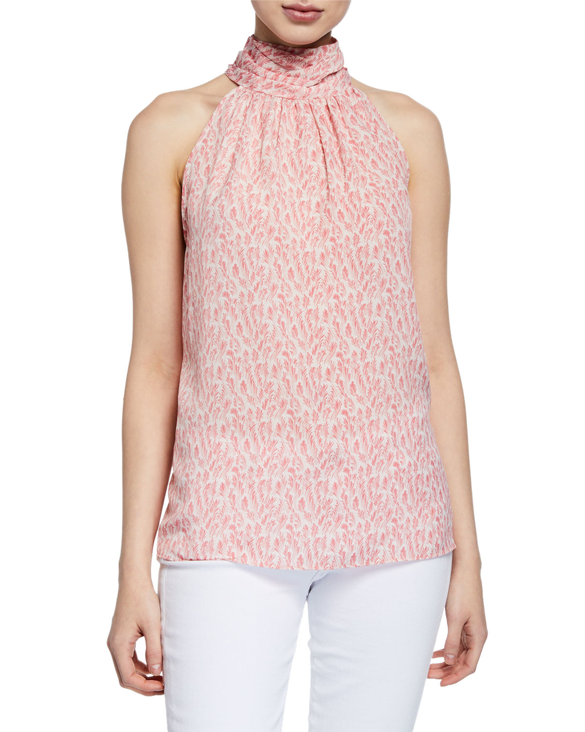 2227af9342ac6 Joie Relaxed-Fit Sleeveless Blouse In Rosebud