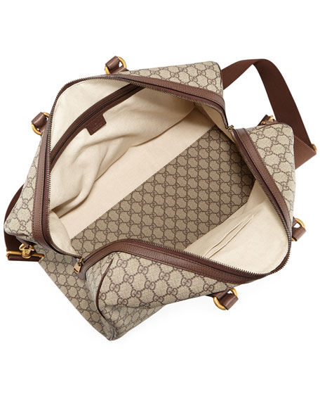 1f09e24099a3 Gucci Ophidia Gg Medium Carry-On Duffle Bag In Beige | ModeSens