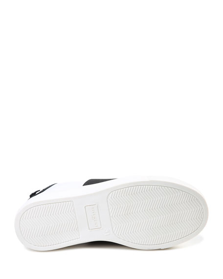 Givenchy Urban Street Logo-Print Leather Slip-On Sneakers In White