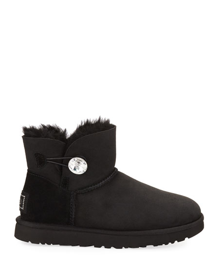 711f2a69650 Australia 'Mini Bailey Button Bling' Boot (Women) in Black
