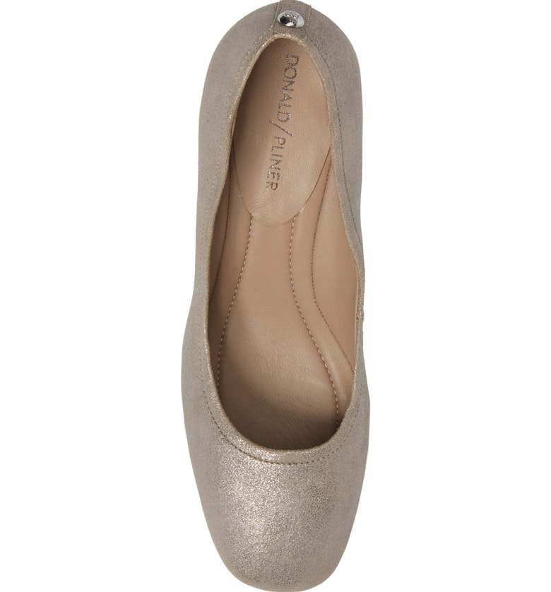 f5a0d0f16ee7 Donald J Pliner Camy Pump In Taupe Leather