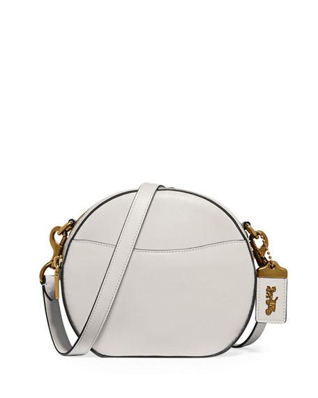 e7cc97456479 Coach Canteen Glove-Tan Leather Crossbody Bag In Chalk