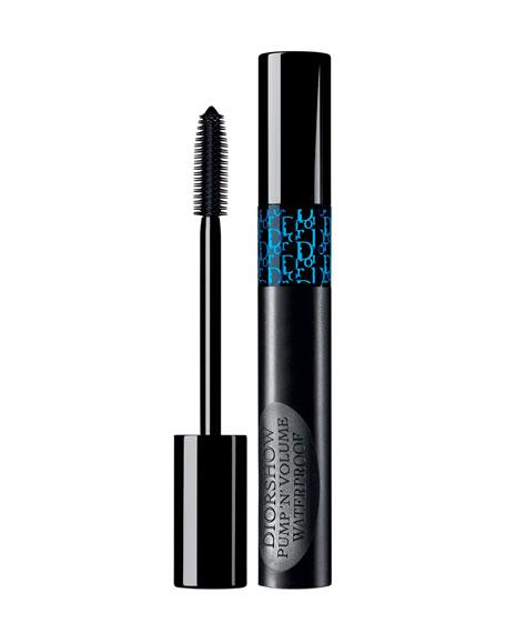 Dior Show Pump'N'Volume Waterproof Mascara 090 Black Pump 0.18 Oz/ 5.2 G