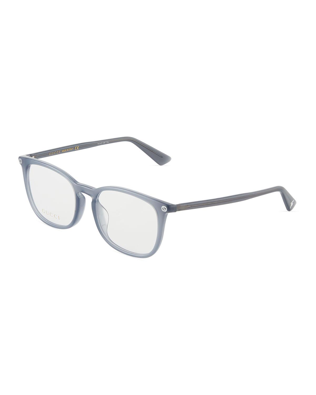 49e1167bd50b Gucci Square Acetate Optical Glasses In Gray