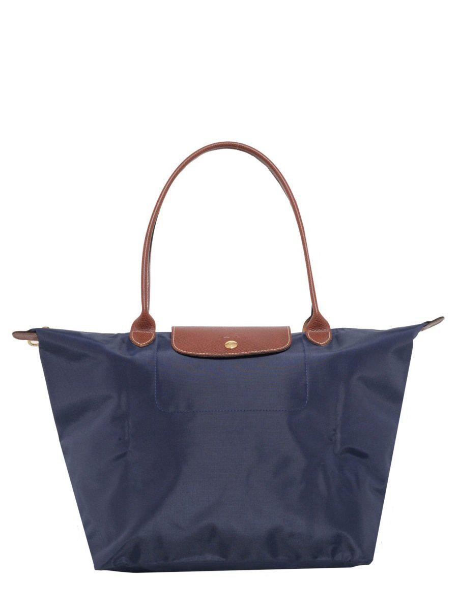 Longchamp Le Pliage L Tote Bag In Blue. CETTIRE 9224584ead1e2