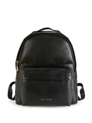 29e661c87d Marc Jacobs Large Leather Backpack In Black