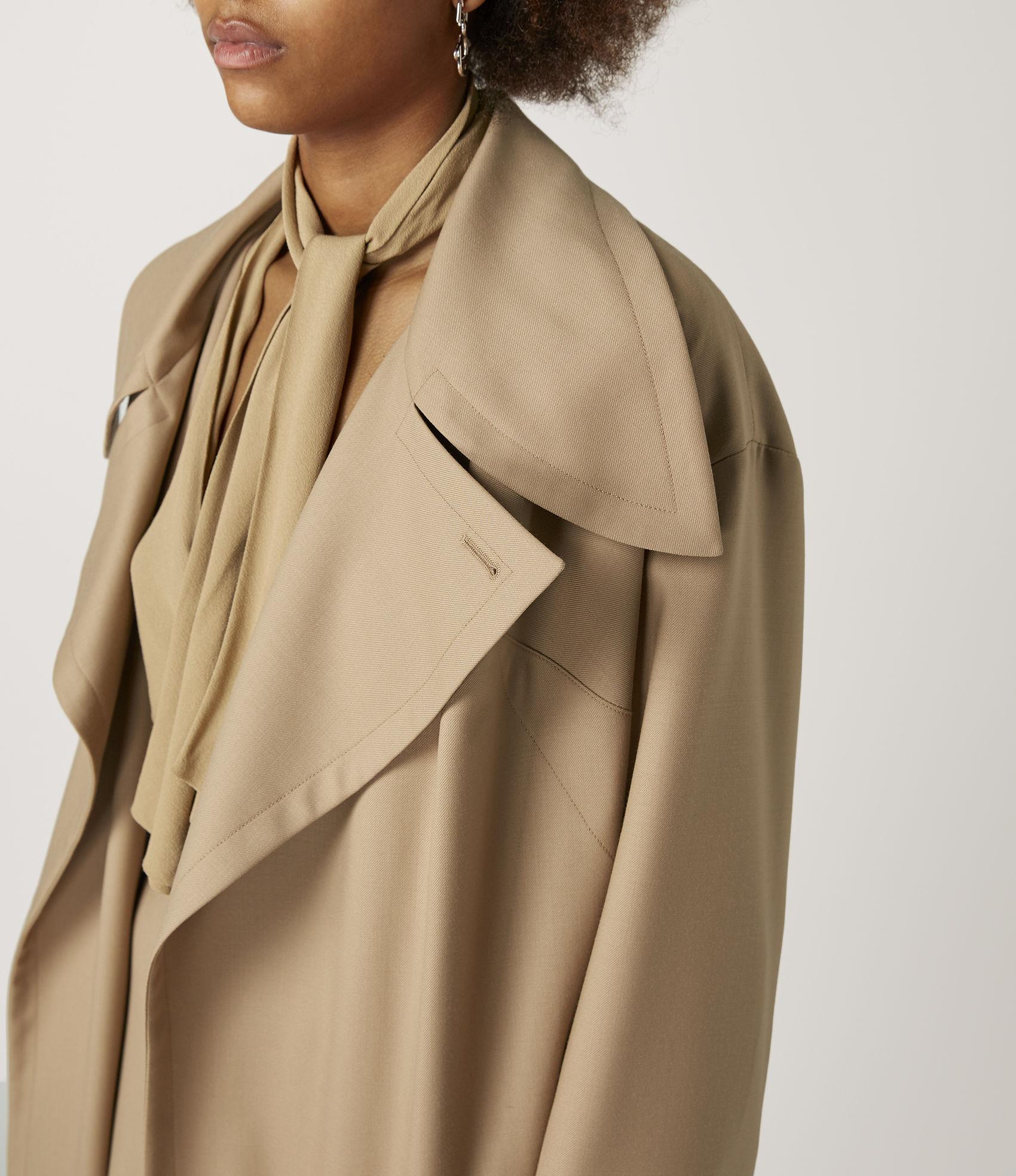 1649e08c8 Vivienne Westwood Wilma Wrap Coat Nude | ModeSens