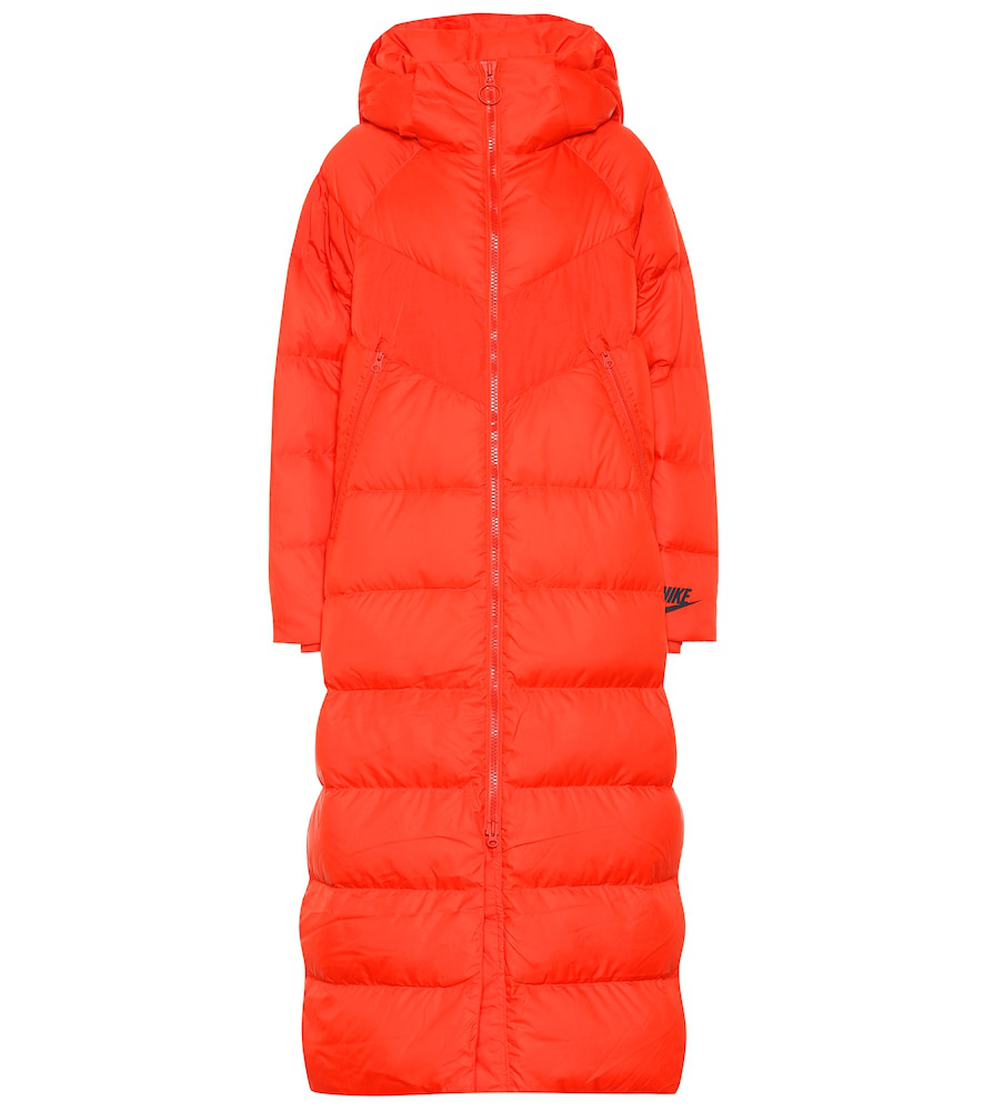 f8850f6690bc Nike Down-Filled Puffer Coat In Red