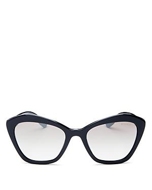 eea22369f1 Miu Miu Women s Mirrored Cat Eye Sunglasses
