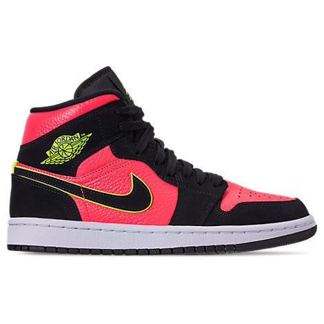 best service 9dcdf b83f8 Nike Women s Air Jordan 1 Mid Se Casual Shoes, Black