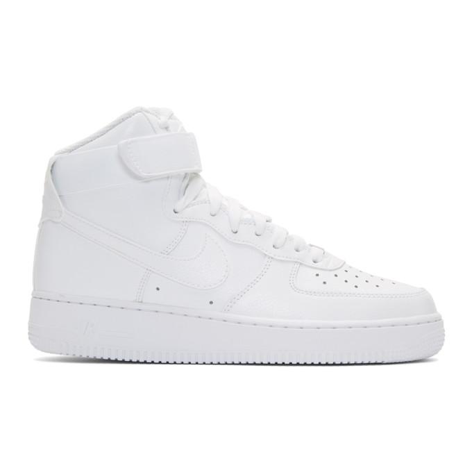 4150e10c7259e Nike Men's Nba Air Force 1 High 07 Casual Shoes, White   ModeSens