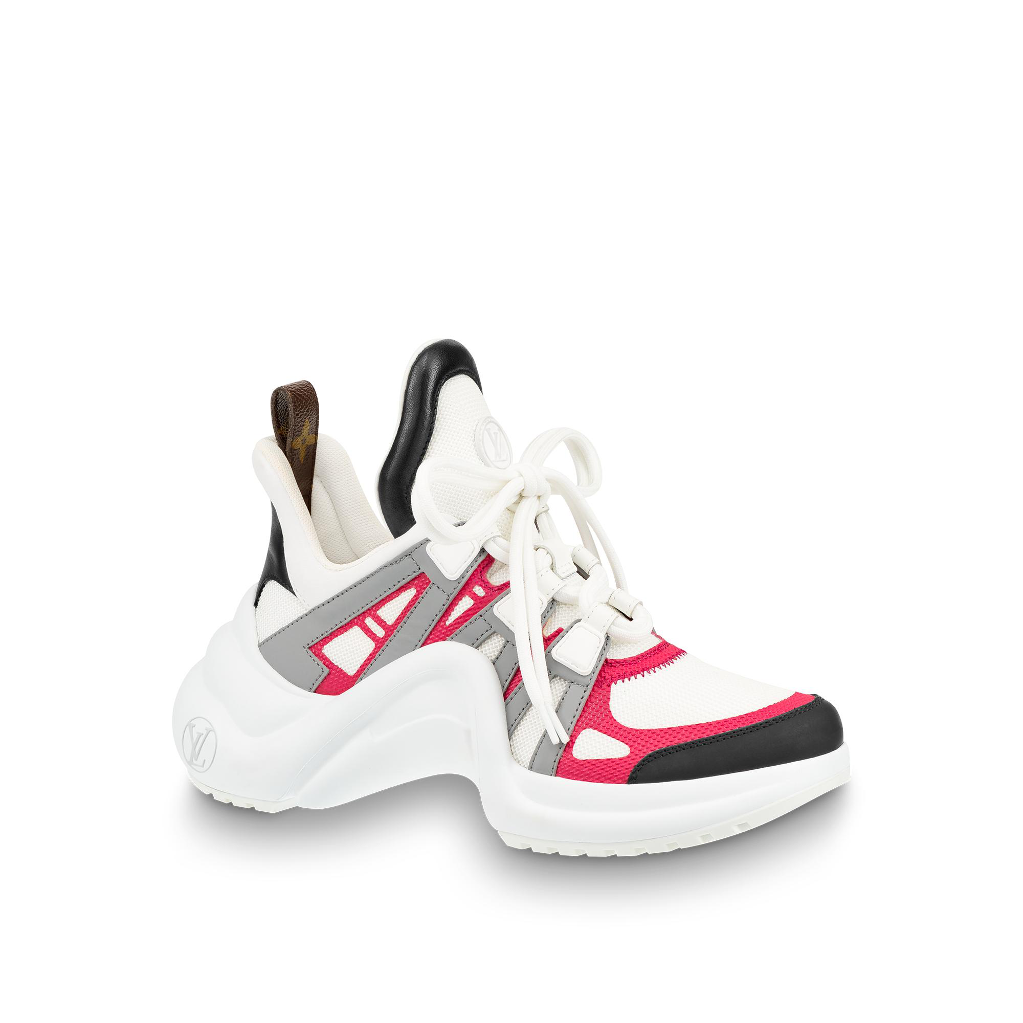 7108b57db203 Louis Vuitton Lv Archlight Sneaker In Rose Clair