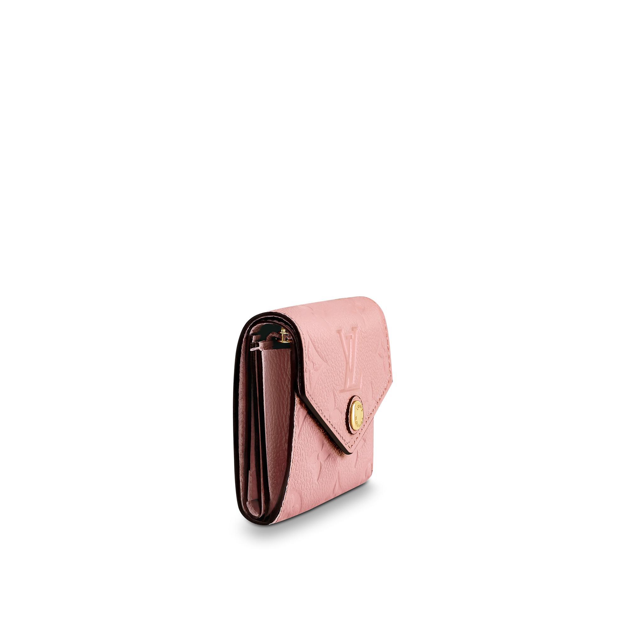 373e4cd19 Louis Vuitton ZoÉ Wallet In Rose Poudre | ModeSens