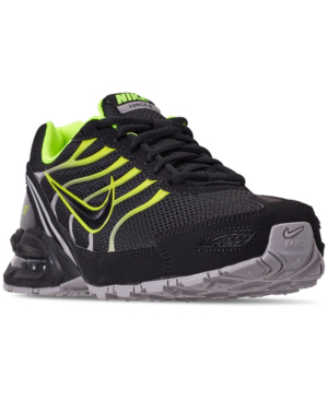 a21d8236 Nike Men's Air Max Torch 4 Running Sneakers From Finish Line In Black/Volt-