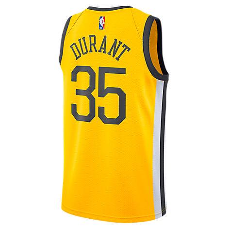 805d89e8dee1 Nike Men s Golden State Warriors Nba Kevin Durant Earned Edition Swingman  Jersey