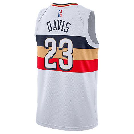 5c62c86dafd5 Nike Men s New Orleans Pelicans Nba Anthony Davis Earned Edition Swingman  Jersey