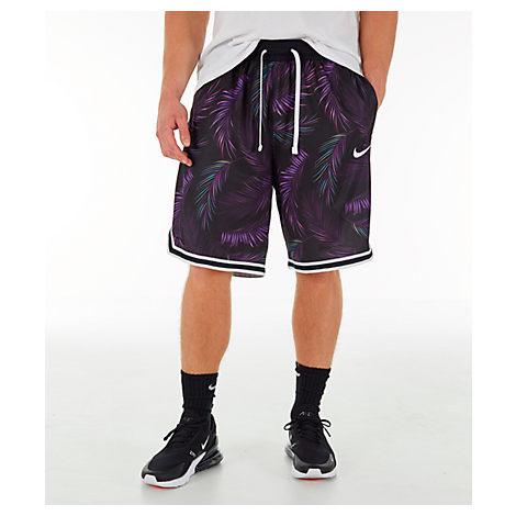 19620a3758b1c Nike Men's Dri-Fit Dna Floral Basketball Shorts, Purple | ModeSens