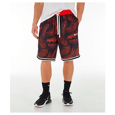 5072f5b375fbd Nike Men's Dri-Fit Dna Floral Basketball Shorts, Red | ModeSens