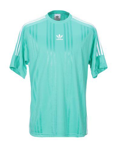 Adidas Originals T-shirts In Light Green | ModeSens