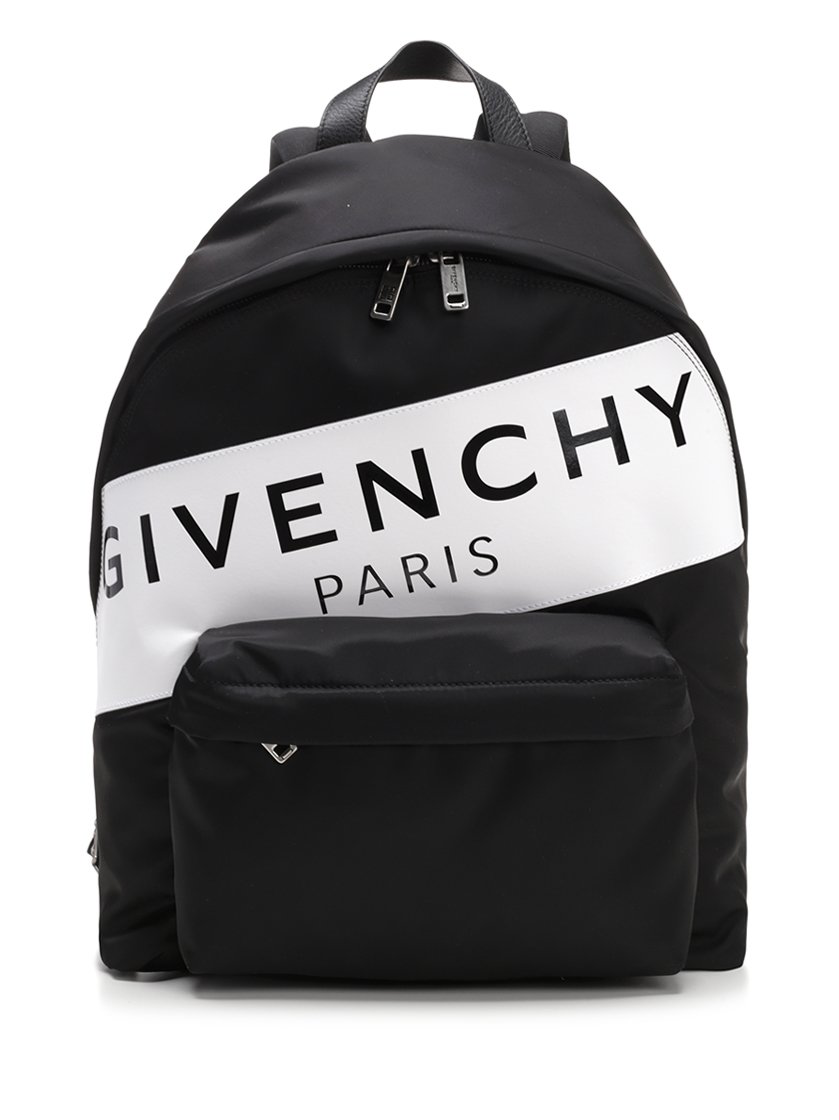 Givenchy Urban Leather-Trimmed Backpack - Black  3bede1a5fb124