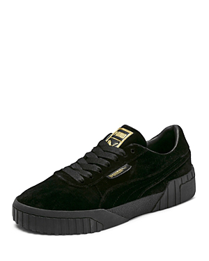 Women's Cali Velvet Low-Top Sneakers