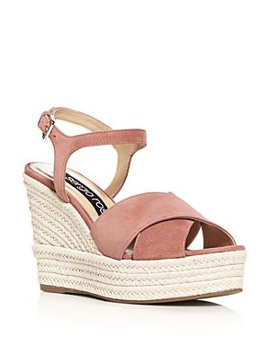 d956088079b Women's Pantelleria Crisscross Platform Wedge Sandals in Medium Pink