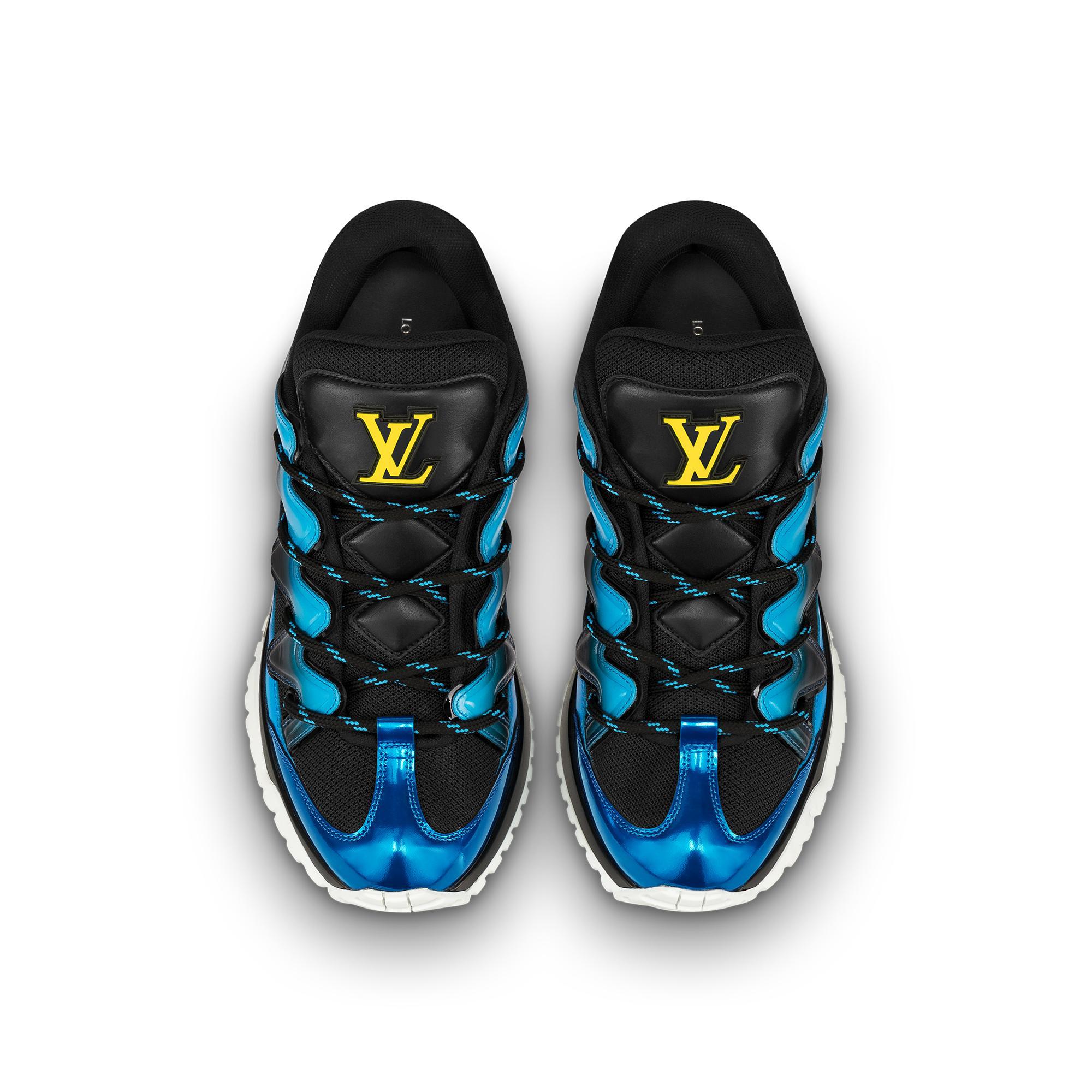 91199b3cfe8d Louis Vuitton Digital Exclusive Zig Zag Sneaker