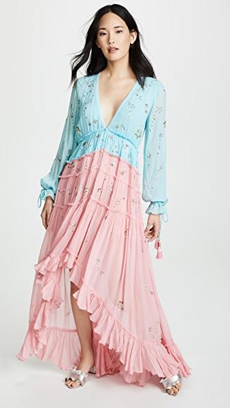 458f4ccb7f Rococo Sand Star Light High Low Dress In Blue
