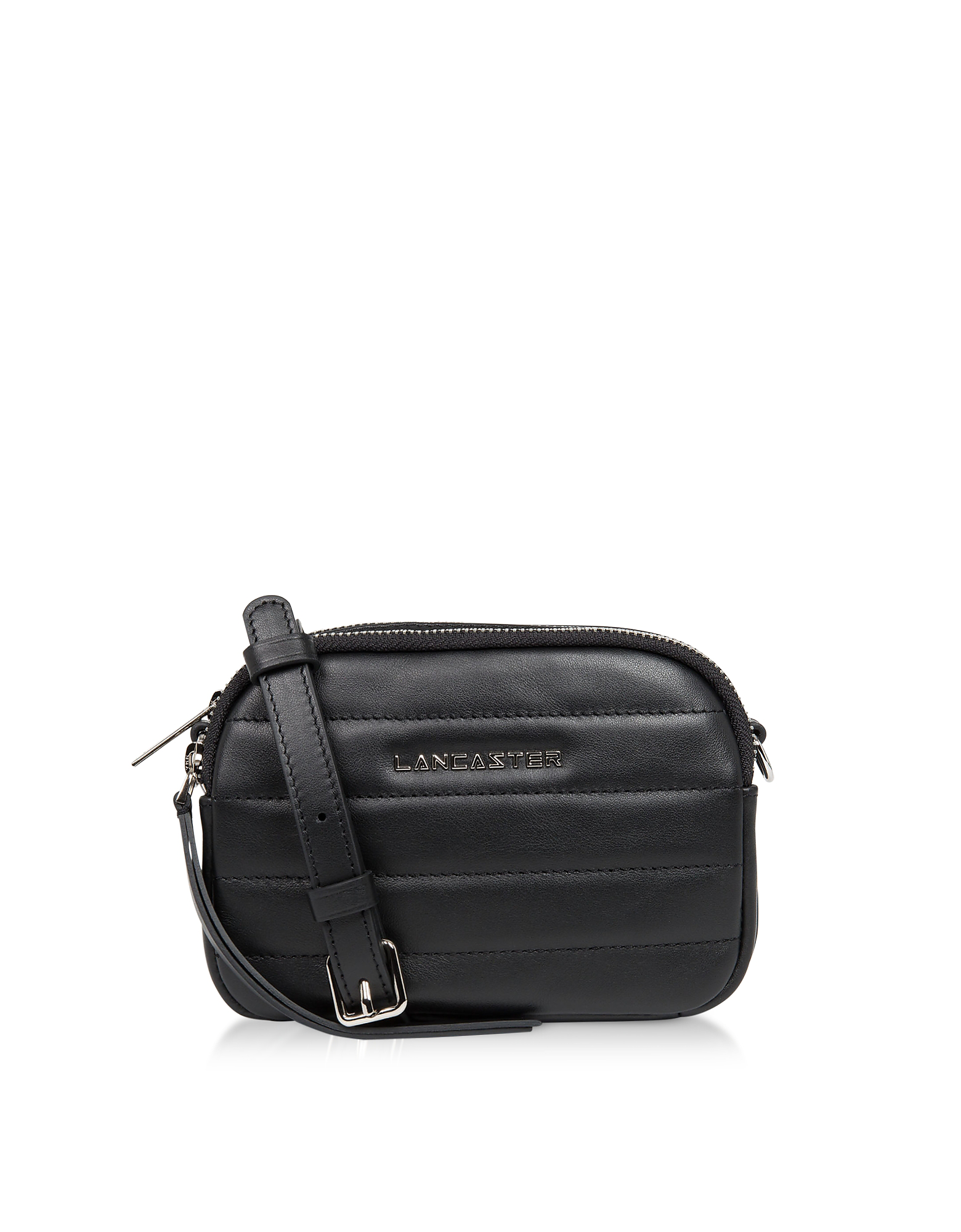 e1a5c65b190795 Lancaster Parisienne Couture Mini Crossbody Bag In Black   ModeSens