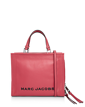 cea708f05304 Marc Jacobs The Box Large Leather Shopper Tote In Peony Silver ...
