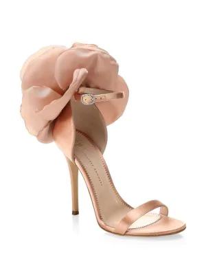 4360314c2 Giuseppe Zanotti Women s Flower-Embellished High-Heel Sandals In Pink
