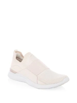 c60d2c1b2a5 Apl Athletic Propulsion Labs Women s Techloom Bliss Knit Slip-On Sneakers In  Nude  White