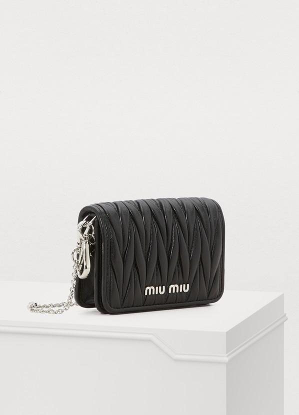 6fdf671b6c9 Miu Miu Small Wallet On Chain