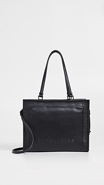 846c7640de07 Marc Jacobs The Box 33 Leather Satchel - Black