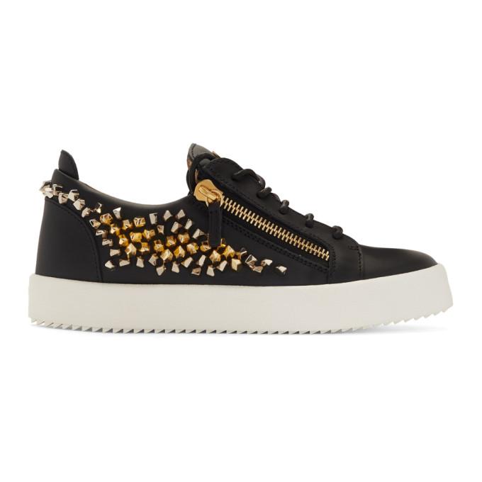 df32816e7de13 Giuseppe Zanotti Black Cosmann May London Sneakers | ModeSens
