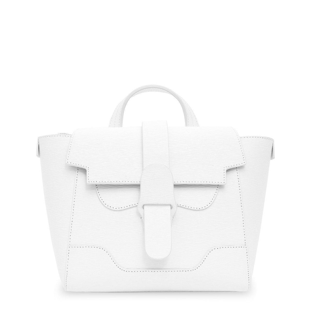 Senreve The Mini Maestra Bag In Blanc