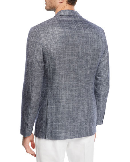 b2386d84 Men's Cashmere/Silk Tic Sport Coat in Blue
