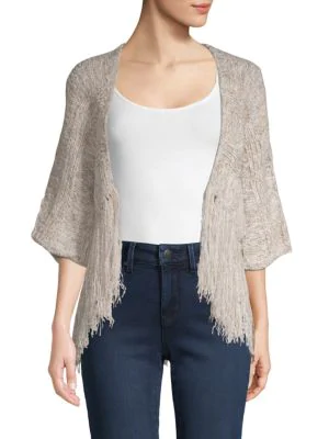 75f64cc6791 Zoella Fringed Topper in Beige