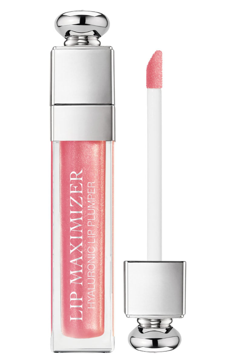 Dior Addict Lip Maximizer Plumping Gloss 010 Holo Pink 0.2 Oz/ 6 Ml In 010 Pink/ Holographic