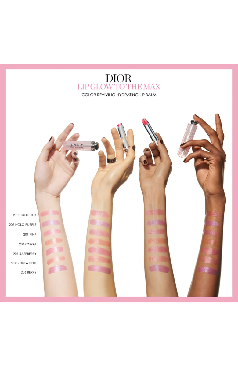 Dior Lip Glow To The Max Hydrating Color Reviver Lip Balm - 201 Pink/ Glow