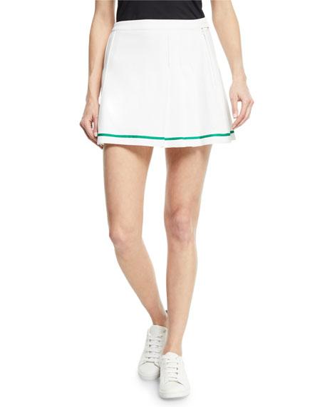 858ba71b0e Tory Sport Tech Twill Pleated Tennis Skirt In White | ModeSens