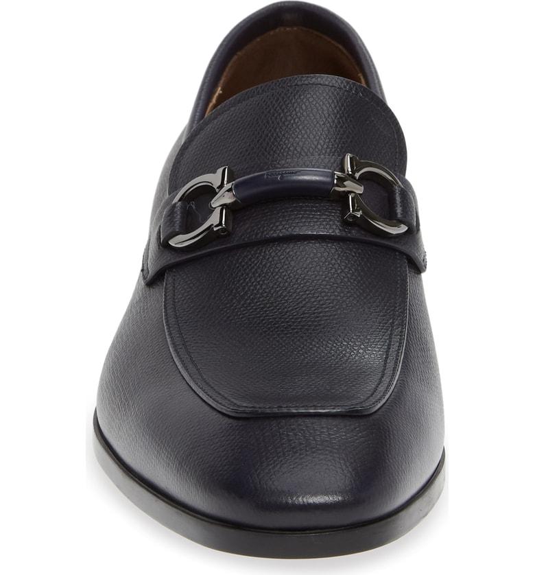 4eab150c22f8 Salvatore Ferragamo Men s Benford Gancini-Bit Leather Loafer In Black