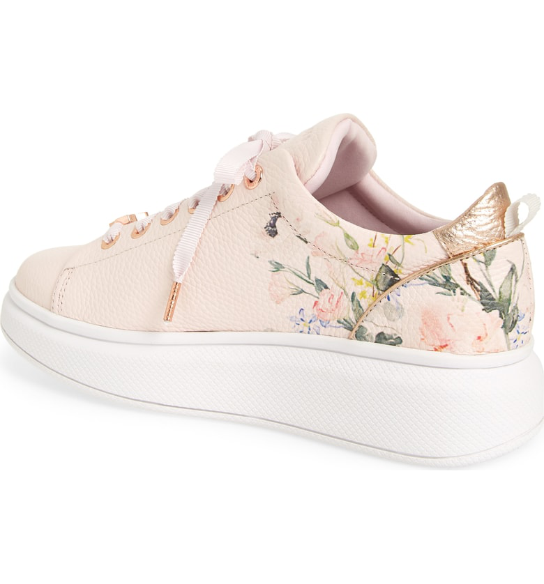 e03c219fe4e Ted Baker Ailbe 3 Sneaker In Elegant Pink Leather