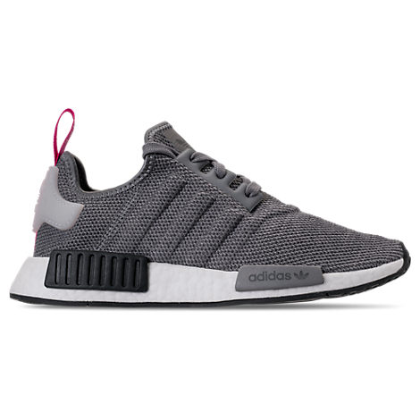 fcb5f2085 Adidas Originals Women s Nmd R1 Knit Lace Up Sneakers In Grey