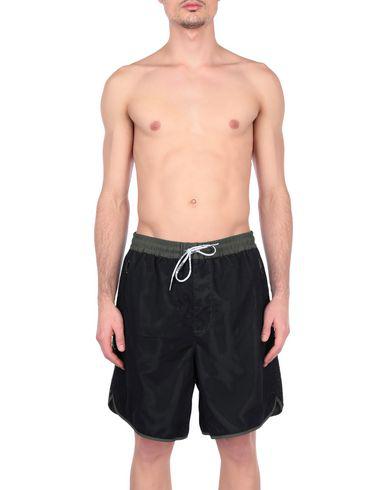 835190efe9 Armani Exchange Swim Trunks In Military Green | ModeSens