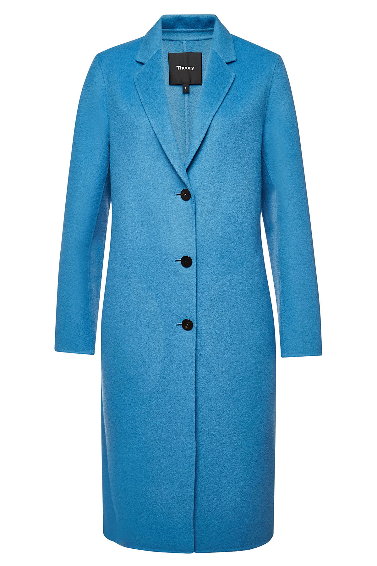 2cb9a756055 Theory Wool Coat With Cashmere In Blue | ModeSens