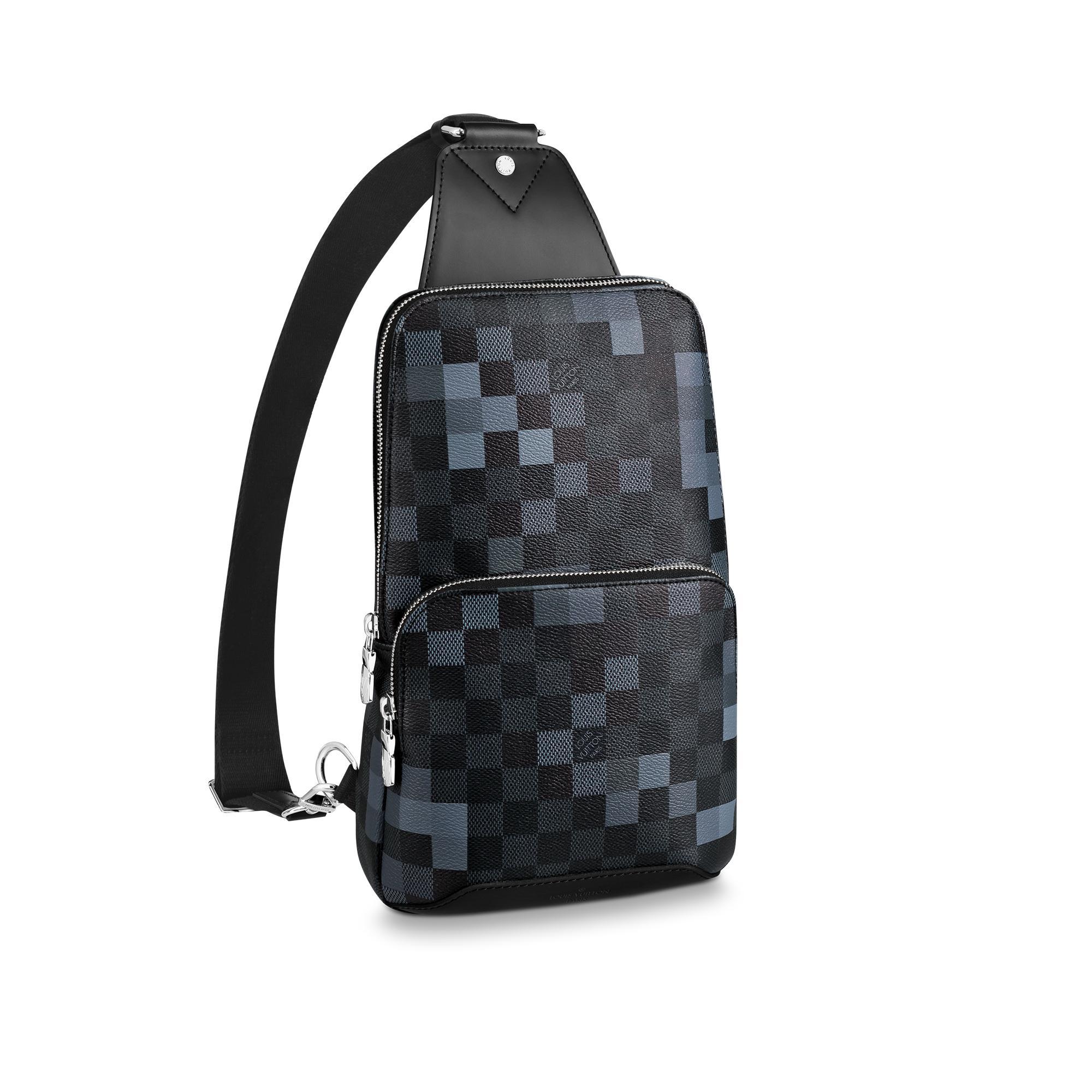 6b5ecb7d5a57 Louis Vuitton Avenue Sling Bag In Damier Graphite Canvas