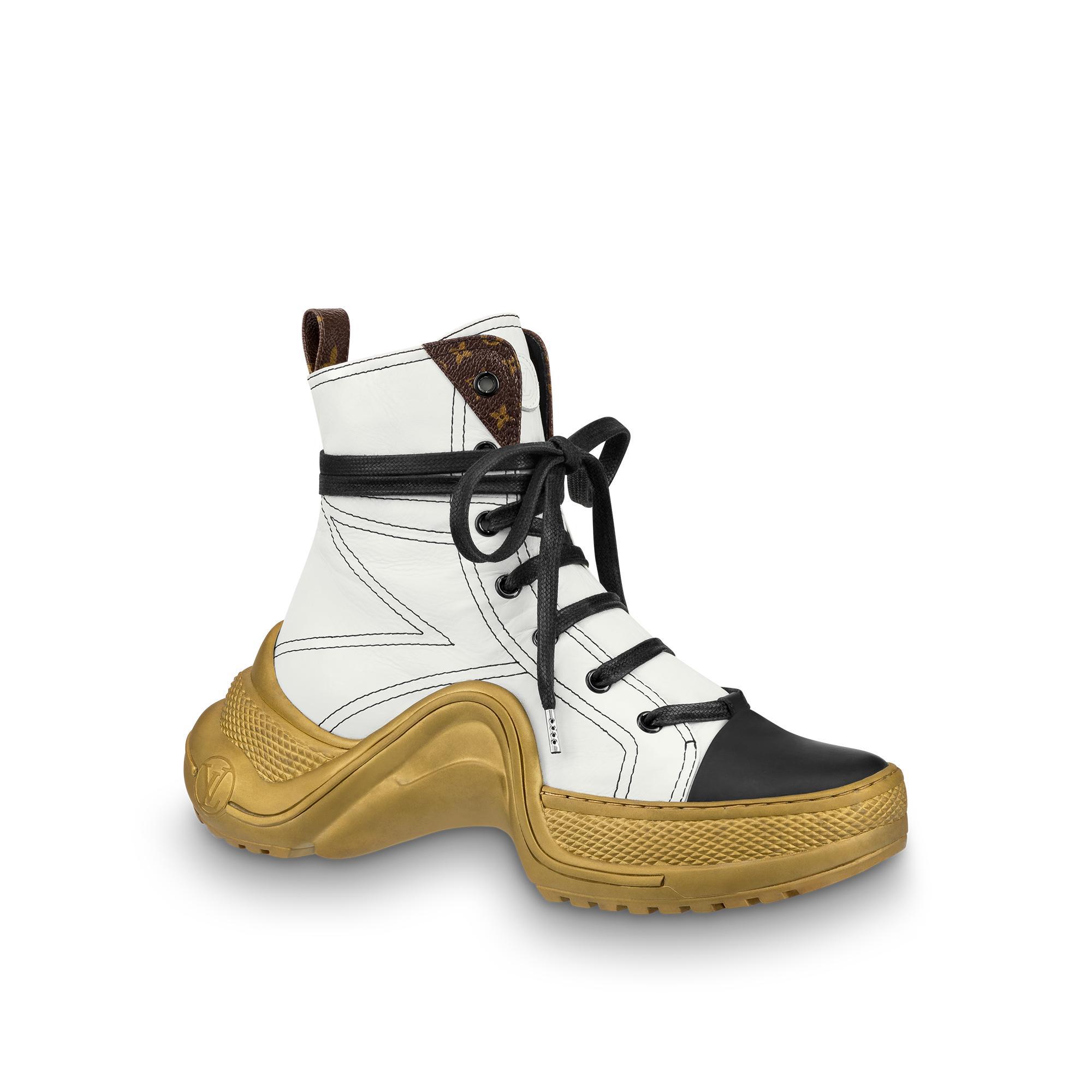 5df604416f2 Lv Archlight Sneaker Boot in White