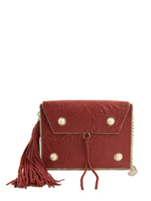 677c1163c8f Sam Edelman Gianna Iron Boxed Mini Bag In Red | ModeSens