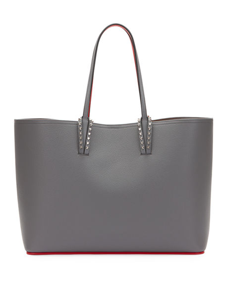 0add8652c98c Christian Louboutin Cabata Calfskin Leather Tote - Grey In Shadow  Shadow